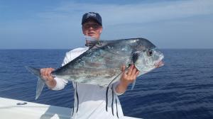 African Pompano 4 Tampa Bay Fishing Charter Capt. Matt Santiago