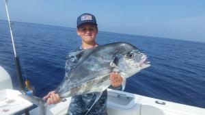 African Pompano 5 Tampa Bay Fishing Charter Capt. Matt Santiago