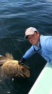 Goliath Grouper Tampa Bay Fishing Charter Capt. Matt Santiago