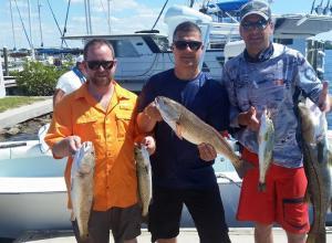 Inshore Slam Tampa Bay Fishing Charter Capt. Matt Santiago