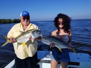 Jack Crevalle Tampa Bay Fishing Charter Capt. Matt Santiago