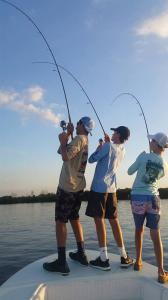Kids Fishing Triple Header Tampa Bay Fishing Charter Capt. Matt Santiago