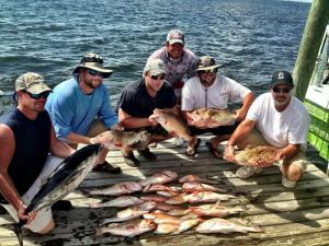 Offshore Snapper Grouper Tuna Tampa Bay Fishing Charter Capt. Matt Santiago