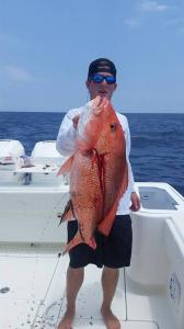 Red Snapper 3 Tampa Bay Fishing Charter Capt. Matt Santiago