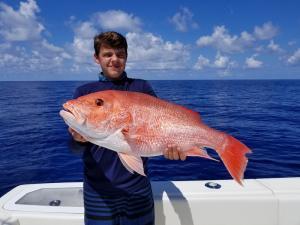 Red Snapper Tampa Bay Fishing Charter Capt. Matt Santiago