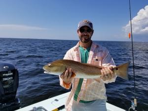 Redfish 10 Tampa Bay Fishing Charter Capt. Matt Santiago