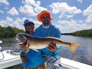 Redfish 11 Tampa Bay Fishing Charter Capt. Matt Santiago