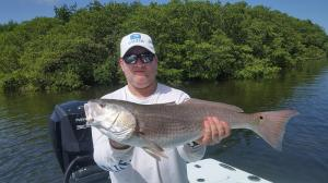Redfish 13 Tampa Bay Fishing Charter Capt. Matt Santiago