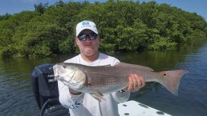 Redfish 13 Tampa Bay Fishing Charter Capt. Matt Santiago