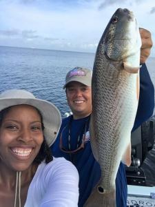 Redfish 19 Tampa Bay Fishing Charter Capt. Matt Santiago