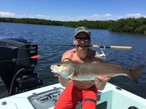 Redfish 20 Tampa Bay Fishing Charter Capt. Matt Santiago