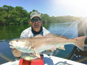 Redfish 23 Tampa Bay Fishing Charter Capt. Matt Santiago
