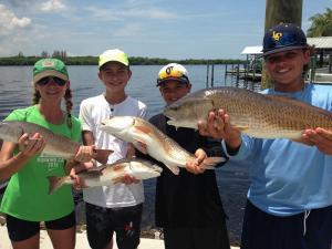 Redfish 27 Tampa Bay Fishing Charter Capt. Matt Santiago