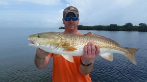 Redfish 30 Tampa Bay Fishing Charter Capt. Matt Santiago