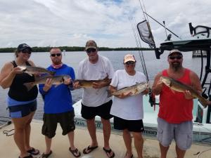 Redfish 5 Tampa Bay Fishing Charter Capt. Matt Santiago