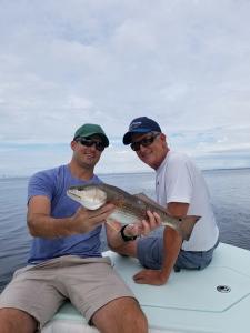 Redfish 7 Tampa Bay Fishing Charter Capt. Matt Santiago