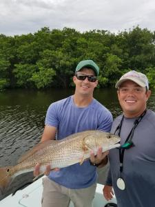 Redfish 8 Tampa Bay Fishing Charter Capt. Matt Santiago