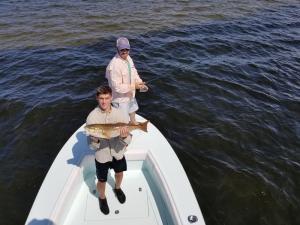 Redfish 9 Tampa Bay Fishing Charter Capt. Matt Santiago