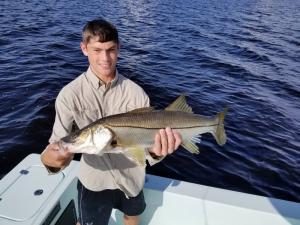 Snook 11 Tampa Bay Fishing Charter Capt. Matt Santiago