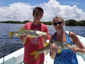 Snook 16 Tampa Bay Fishing Charter Capt. Matt Santiago