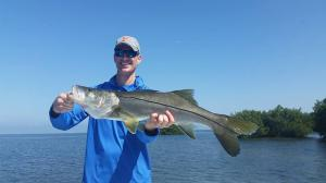 Snook 17 Tampa Bay Fishing Charter Capt. Matt Santiago