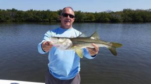 Snook 20 Tampa Bay Fishing Charter Capt. Matt Santiago