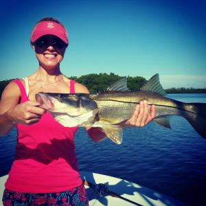 Snook 23 Tampa Bay Fishing Charter Capt. Matt Santiago