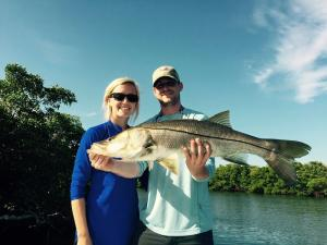 Snook 31 Tampa Bay Fishing Charter Capt. Matt Santiago