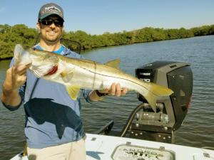 Snook 3 Tampa Bay Fishing Charter Capt. Matt Santiago
