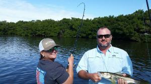 Snook Fishing Tampa Bay Fishing Charter Capt. Matt Santiago