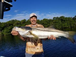 Snook Tampa Bay Fishing Charter Capt. Matt Santiago
