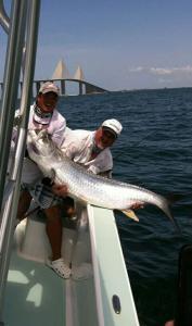 Tarpon 11 Tampa Bay Fishing Charter Capt. Matt Santiago