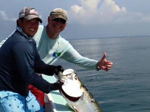 Tarpon 12 Tampa Bay Fishing Charter Capt. Matt Santiago
