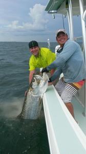 Tarpon 3 Tampa Bay Fishing Charter Capt. Matt Santiago