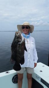 Tripletail 2 Tampa Bay Fishing Charter Capt. Matt Santiago