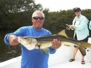 snook 34 Tampa Bay Fishing Charter Capt. Matt Santiago