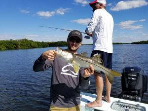 snook 4 Tampa Bay Fishing Charter Capt. Matt Santiago